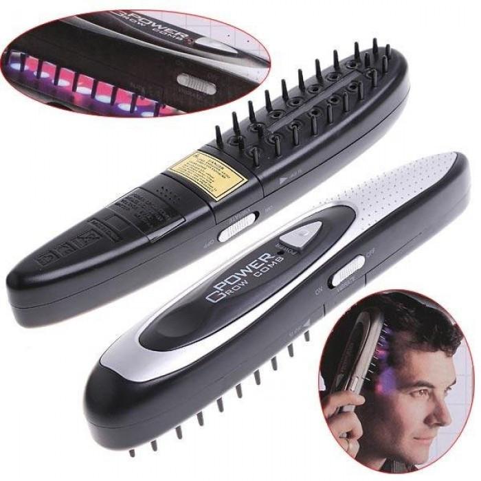 Лазерная расческа против выпадения волос Power Grow Comb