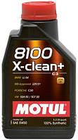 МОТОРНОЕ МАСЛО СИНТЕТИКА Motul 8100 X-clean+ 5W30 (1л)