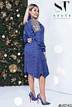 Комфортное и стильное платье из ангоры р. 48-50, 52-54, 56-58, фото 2