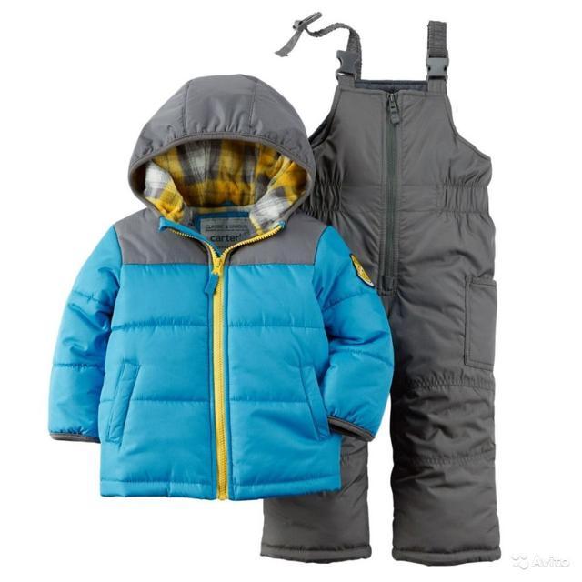 Куртки, теплые костюмы и комбинезоны для мальчика