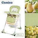 Стульчик для кормления El Camino ME 1001-5 «PUNTO», оливковый, фото 2