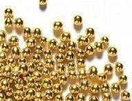 Посыпка Шарики золотые 5мм 4г. Украса- 00337