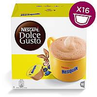 Быстрорастворимый какао-напиток NESCAFE Dolce Gusto Nesquik 16 шт. (Нескафе Дольче Густо Несквик)