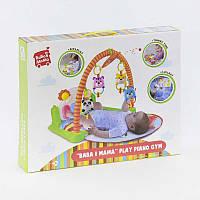 Игровой музыкальный коврик BABA I MAMA Play Piano Gym Разноцветный (2-HX7101A-59845)