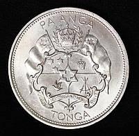 Монета Тонга 1 паанга 1967 г. Салоте Тупоу