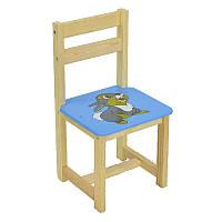 Детский стул Мася Зайчик 4021 Голубой (2-4021-67036)