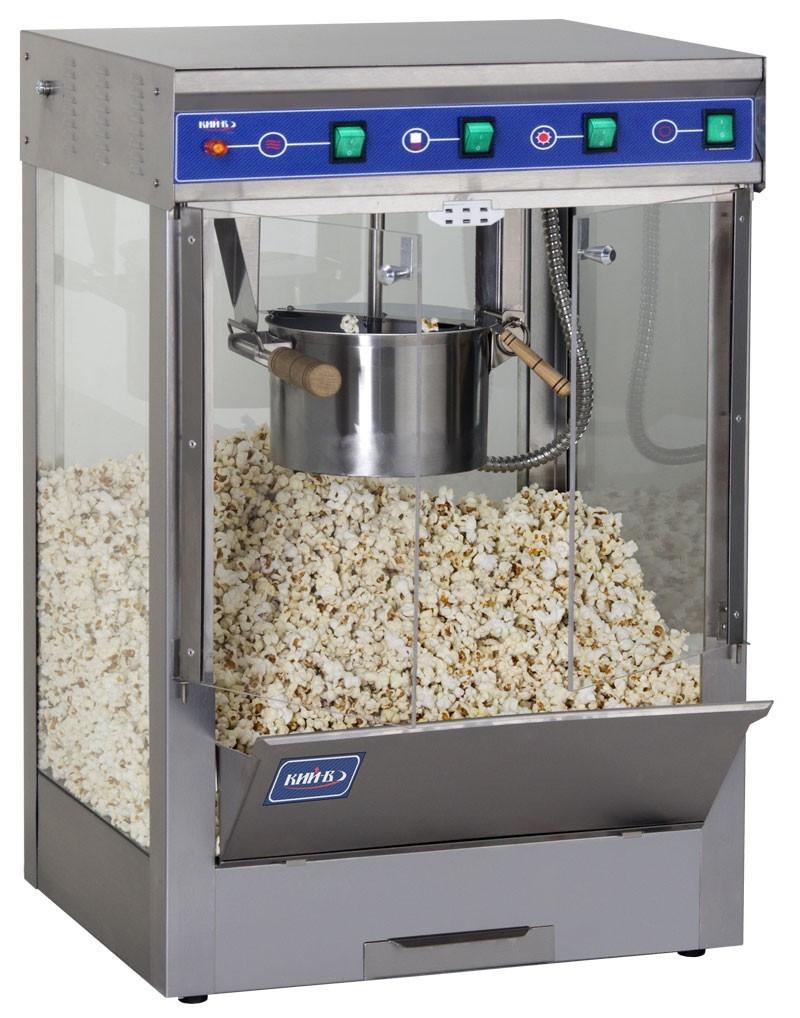 Аппарат для приготовления попкорна с подогревом АПК-П-150