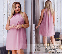 Красивое шифоновое платье, фото 1