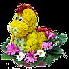 Красивые игрушки из цветов