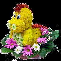 Красивые игрушки из цветов , фото 1