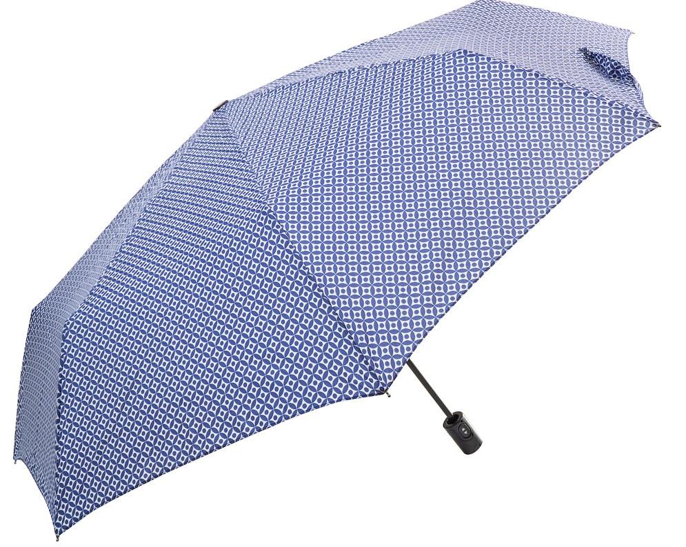 Жіночий парасольку Doppler автомат синій