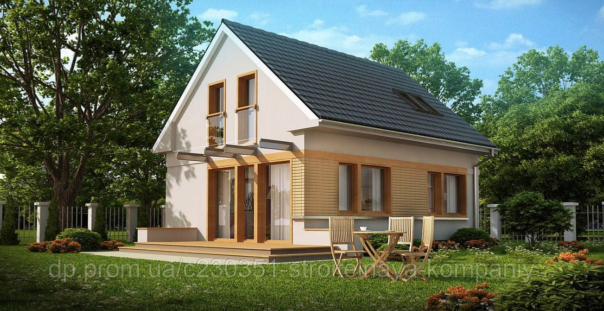 Проект дома uskd-27
