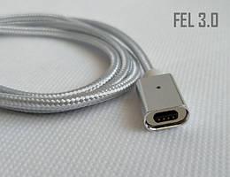 Магнитный шнур FEL3.0, Essager (без коннектора) 20 см, серебристый