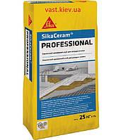 Клей для плитки высококачественный эластичный Sika ® Ceram Professional