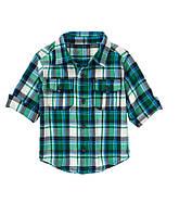 Детская рубашка для мальчика 12-18 месяцев