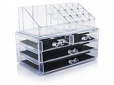 Настольный ящик органайзер для хранения косметики Storage Box