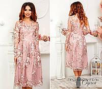 Ажурное платье Зофья, фото 1