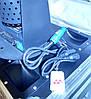 Комплект 2 конфетти машины DMX с Led RGB подсветкой 1500 Вт , фото 9
