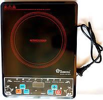 Плита инфракрасная кухонная MS-5841 Таймер 2000 Вт 8 режимов