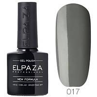 Гель лак ELPAZA  017 Тёмная Византия, 10 мл