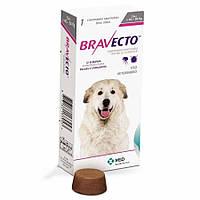 Бравекто (Bravecto) Жевательная таблетка для защиты от блох и клещей для собак весом 40-56 кг