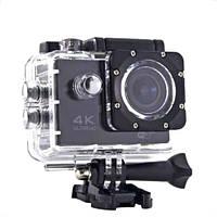 Экшн камера Ultra HD Водонепроницаемая крепление на руль и шлем S2 Wi Fi 4K
