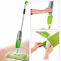 Швабра с встроенным распылителем Healthy Spray Mop 3 в 1 двухсторонняя
