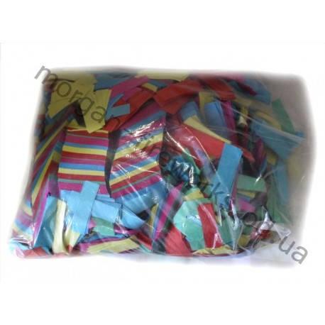 Конфети метафан 1 кг (разноцветные), фото 2