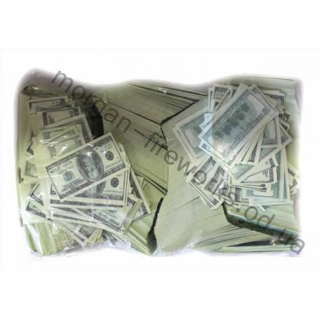 Конфети метафан доллары 1 кг, фото 2