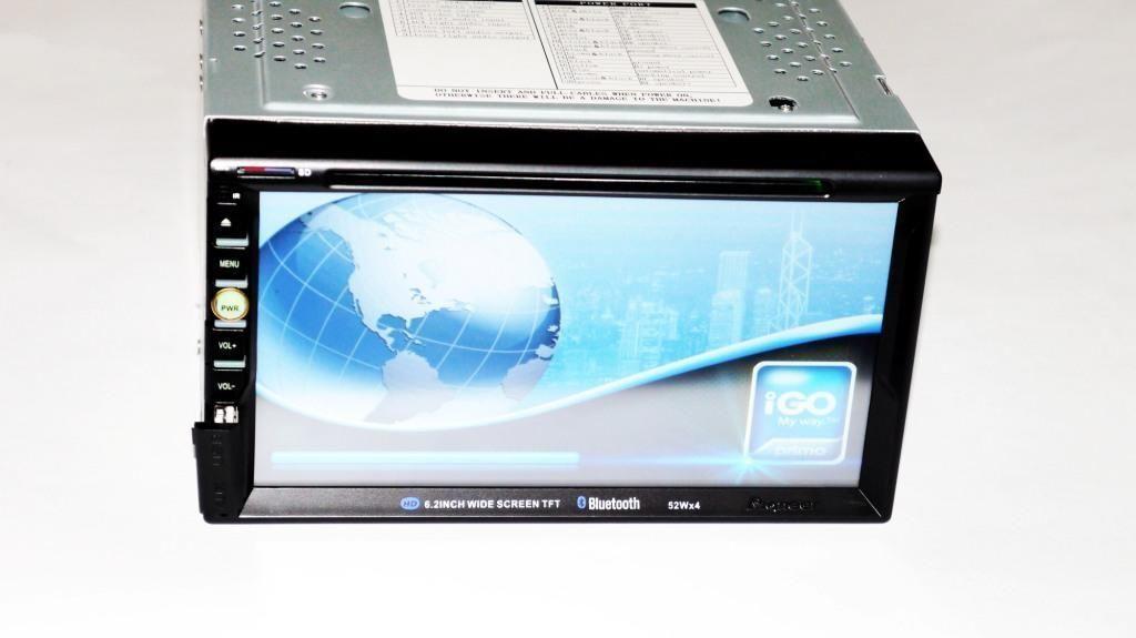"Автомагнитола 2DIN 6910 GPS USB DVD, Магнитола в машину Pioneer 7"" Экран"