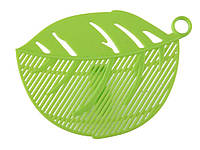 Дуршлаг насадка для слива воды из кастрюль  Зеленый
