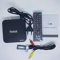 Цифровий ефірний Тюнер T2 приставка з переглядом YouTube HDMI USB 2.0 Pantesat (HD-95)