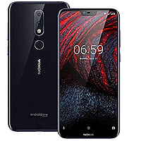 Смартфон Nokia X6 (6.1 plus) 4/64Gb (Black)
