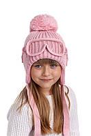 Зимняя шапка-ушанка для мальчика с очками, Nikola