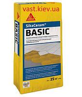 Высококачественный клей для плитки на цементной основе Sika ® Ceram Basic, 25кг