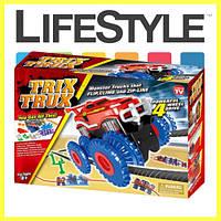 Канатный трек Trix Trux (1 машинка в комплекте) Трасса МОНСТР ТРАКИ