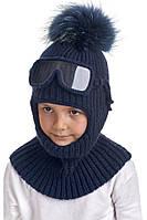 Шапка шлем с очками унисекс, Nikola