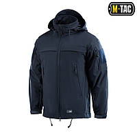 Куртка Soft Shell M-Tac Police Navy Blue L