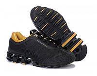 8f6227a8e6bb Мужские кроссовки Adidas Porsche Design IV Rubber Black Gold размер 41  (Ua Drop 111584-41)