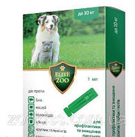 Капли Элит Зоо ELIT ZOO для собак и кошек до 10 кг