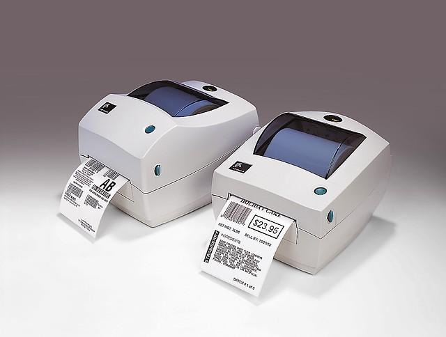 Zebra TLP 2844 термотрансферный принтер этикеток