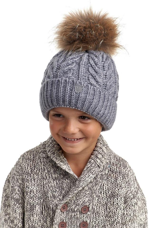 Комплект для мальчика шапка и снуд, Nikola, фото 1
