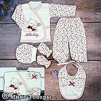 Комплект одежды для маленькой девочки Размер: 0- 3 месяца (7646-2)