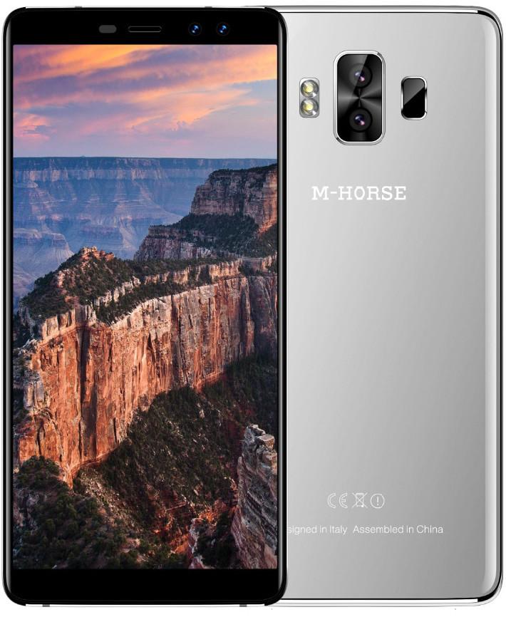 M-horse Pure 1 | Серебристый | 2/16 ГБ | 4G/LTE | Гарантия