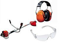 Мотокоса Maruyama MX21H (диск, головка, очки)