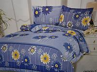 Семейный набор постельного белья из жатки