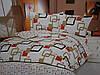 Двухспальный постельный комплект из жатки