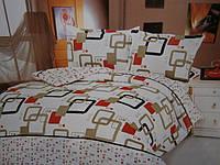 Двухспальный постельный комплект из жатки, фото 1