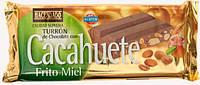 Шоколад Turron de Chocolate с арахисом 250 гр