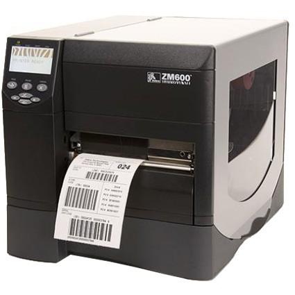Промышленный термопринтер печати этикеток Zebra ZM600